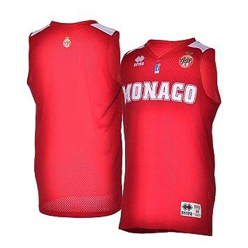 taille 40 a11e5 5f699 AS Monaco Basket As Maillot Officiel Extérieur 2018-2019 ...