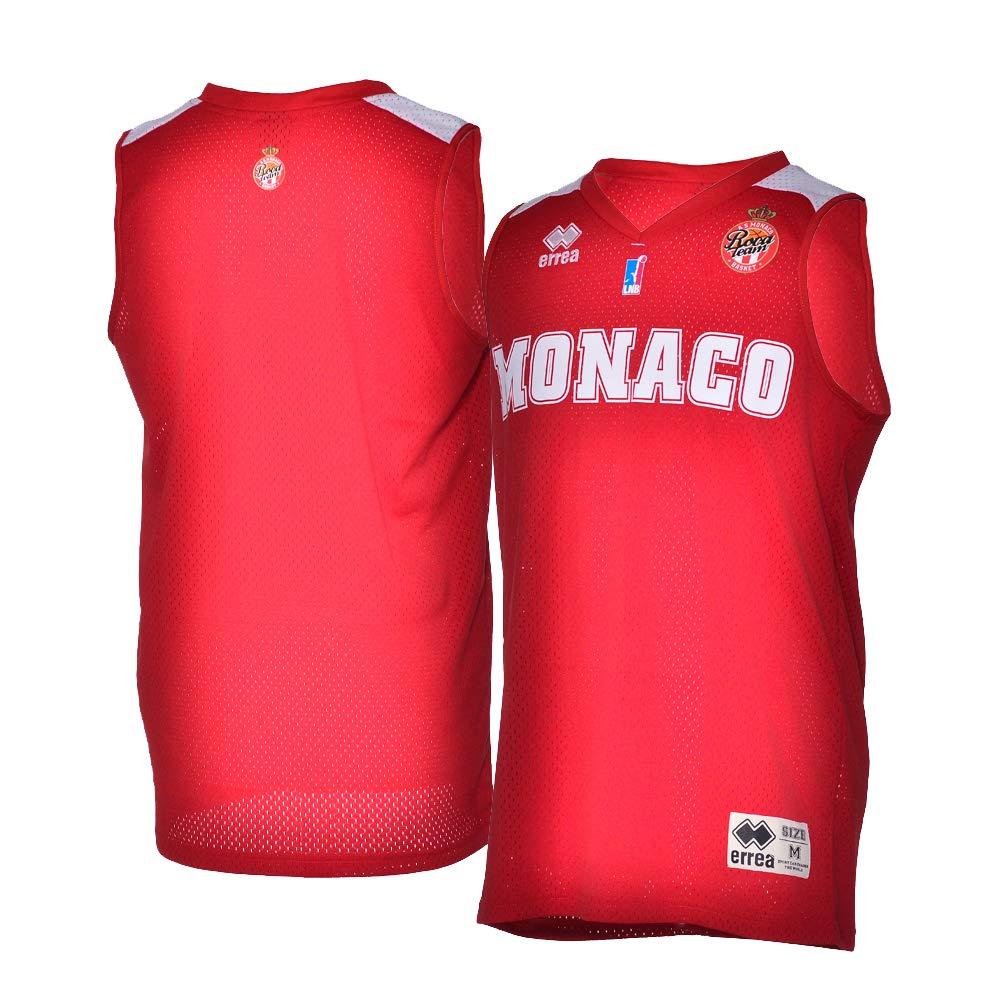 AS Monaco Basket AS Camiseta Oficial para Exterior 2018-2019 ...