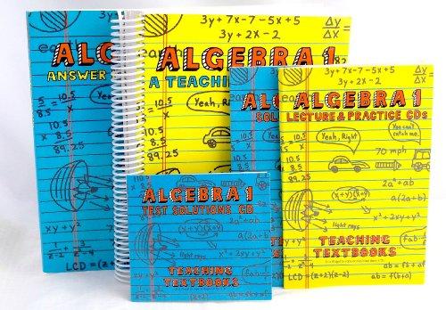 Teaching Textbooks Algebra 1 Version 1.0 Complete Set