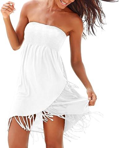 Vestido, Falda Casual, Bikini De La Playa, Traje Baño, Camiseta ...