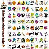 EaNy Toys 144 PCS Halloween Temporary