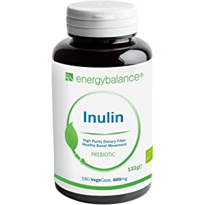 Polvo de inulina orgánico 300g | Polvo de fibra florabiótica de ...