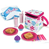 Sophia's Doll Food Picnic Playset | 12 Pieces Include Cooler, Picnic Blanket, Napkins and Food for 18 inch Dolls