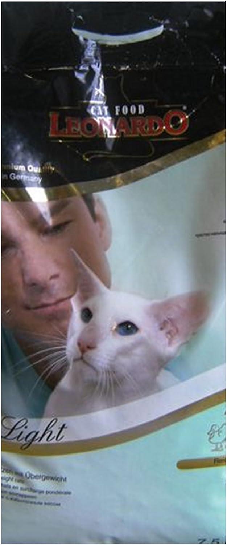 Leonardo Light pienso para Gatos: Amazon.es: Productos para mascotas