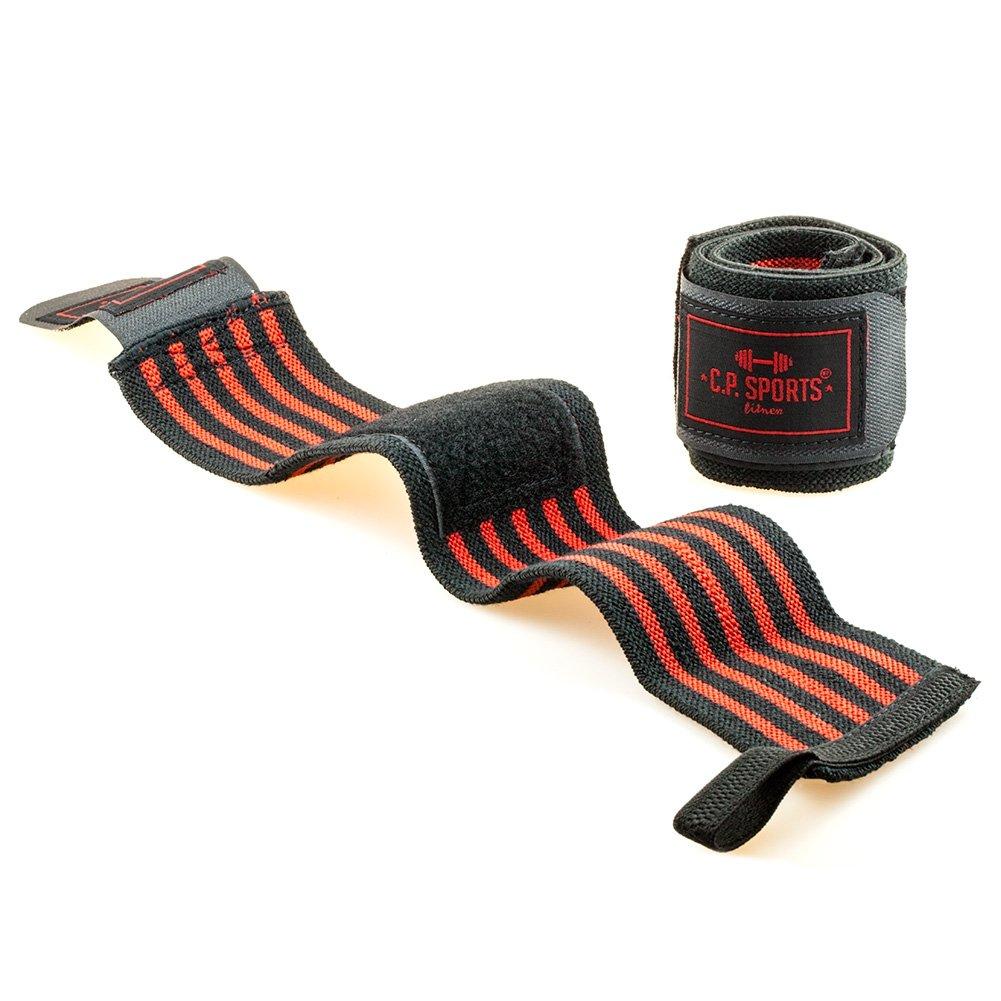 C.P.Sports Bandages de soutien pour les poignets spécial bodybuilding