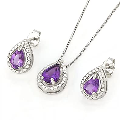 s wife dangle oval stones women from mns com earrings stone new amethyst silver gift product dhgate timejewel purple for