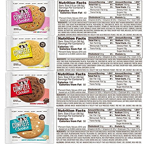 Lenny & Larry's Complete Cookie, Variety, 16 Count
