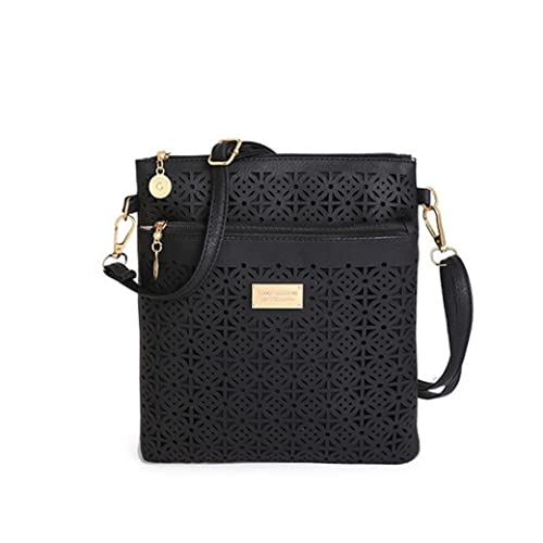 99b5e99c09 Euone Women Hollow Handbag Shoulder Bags Tote Purse Messenger Hobo Satchel Cross  Body Bag (Black