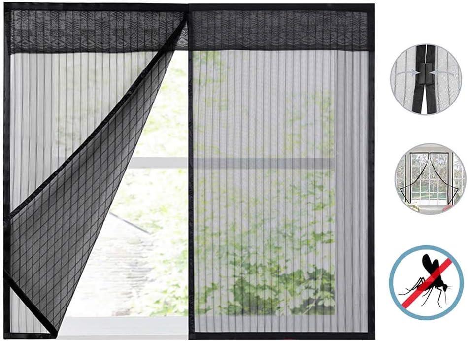 Beige Flei Moustiquaire Magn/étique 35x55cm Rideau/magn/étique/pour/Portes for Le Salon//Porte Patio Automatiquement ferm/é Pliable Acc/ès Facile