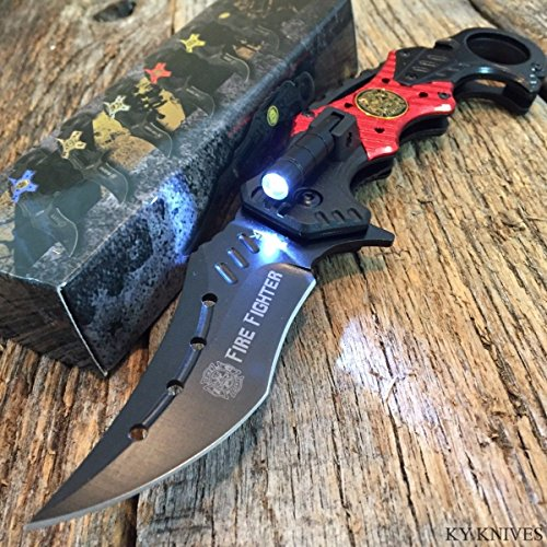 Firefighter Knife With Led Light - 5