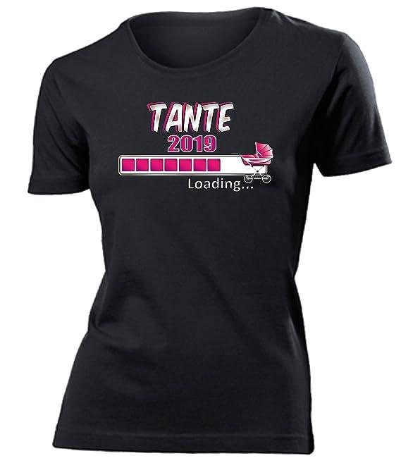 Tante 2019 Loading Geburt Tank Top Damen Gr.S-XL Geburt Schwangerschaft