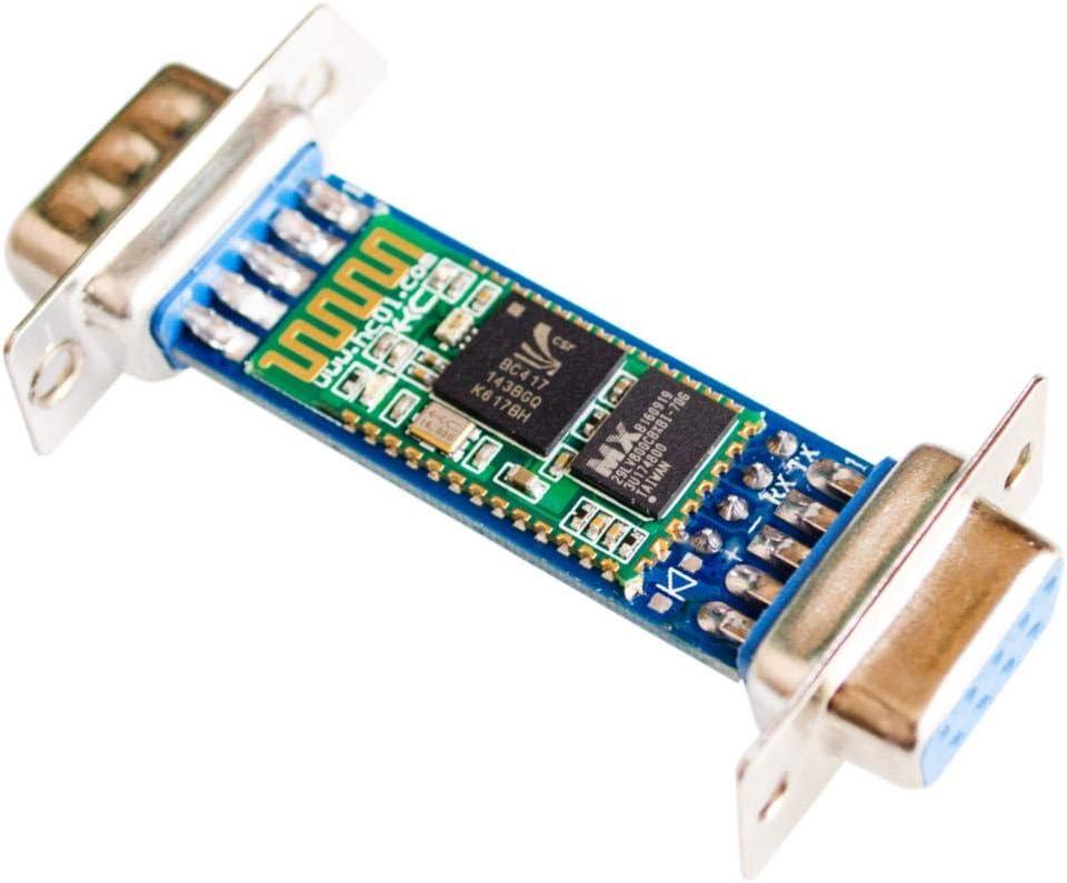 Interfaz DB9 RS232 Bluetooth a través del módulo Puertos seriales inalámbricos HC06 Esclavo Macho-Hembra