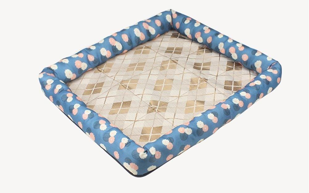 C 50x41x6cm C 50x41x6cm WUTOLUO Pet Bolster Dog Bed Comfort Kennel dog mat (color   C, Size   50x41x6cm)