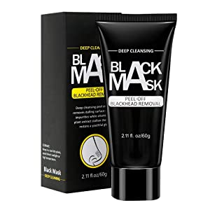 Blackhead Remover Mask, Peel Off Charcoal Face Mask for Deep Pore Cleansing and Skin Conditioning - BodyBasics