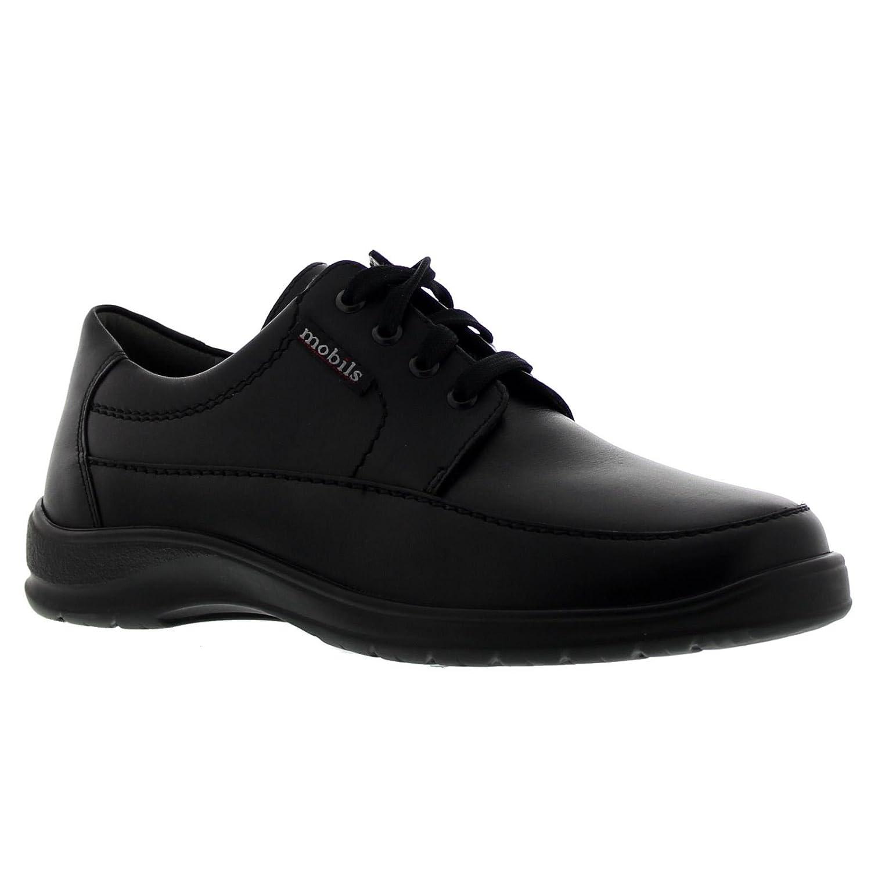 TALLA 44 EU. Mephisto Ezard Schw 9000 - Zapatos de Cordones para Hombre