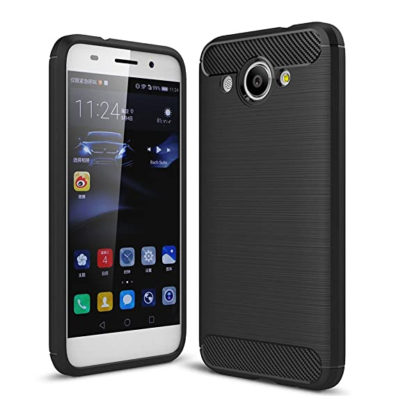 best loved 16661 6d642 For Huawei Y5 lite 2017/Huawei Y3 2017 Case Protective Cover Brushed Light  Thin Slim Soft Silicone Shockproof Simple Protect Smartphone Shell Covers  ...