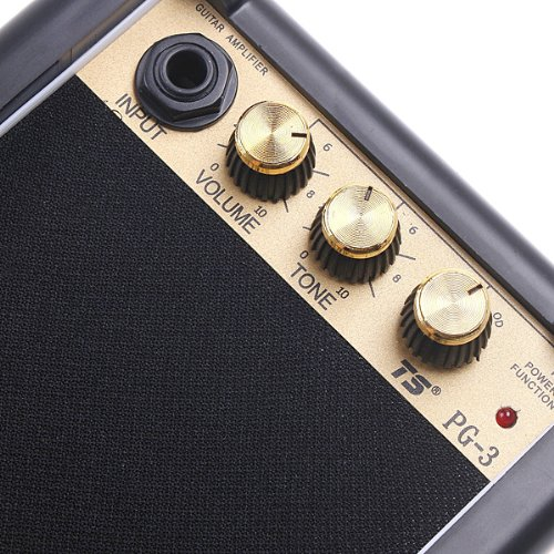 Kingzer Electric Guitar Amp Amplifier Speaker Volume Tone Control Knobs PG-3 3W Watt by KINGZER