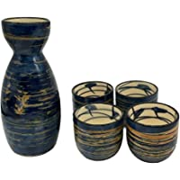 TWOBEE Juego de Tazas de Sake japonés 5