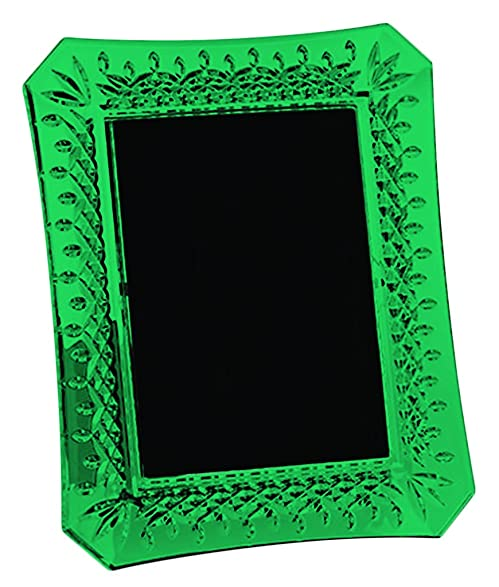 Amazon.com - Emerald Green Waterford Crystal Lismore Picture Frame ...