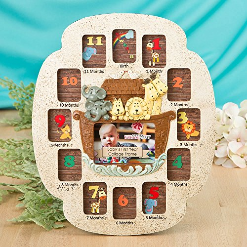 12 Stunning Noah's Ark Baby's First Year Collage by Fashioncraft