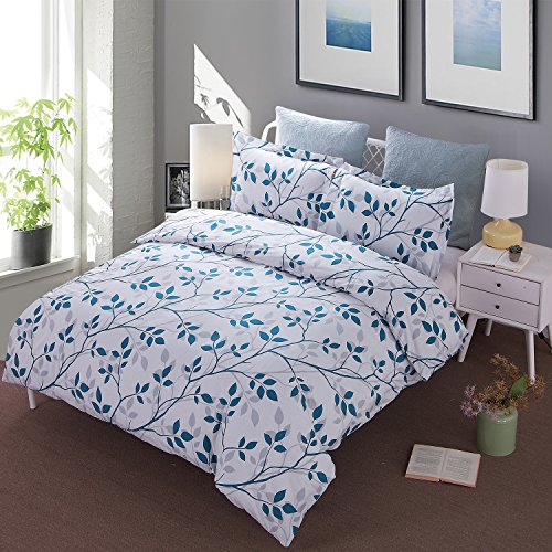 Duvet Cover and Sham Set, 1 Duvet Cover and 2 Pillow Shams 3