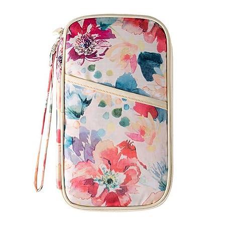 URIJK Floral Travel Wallet