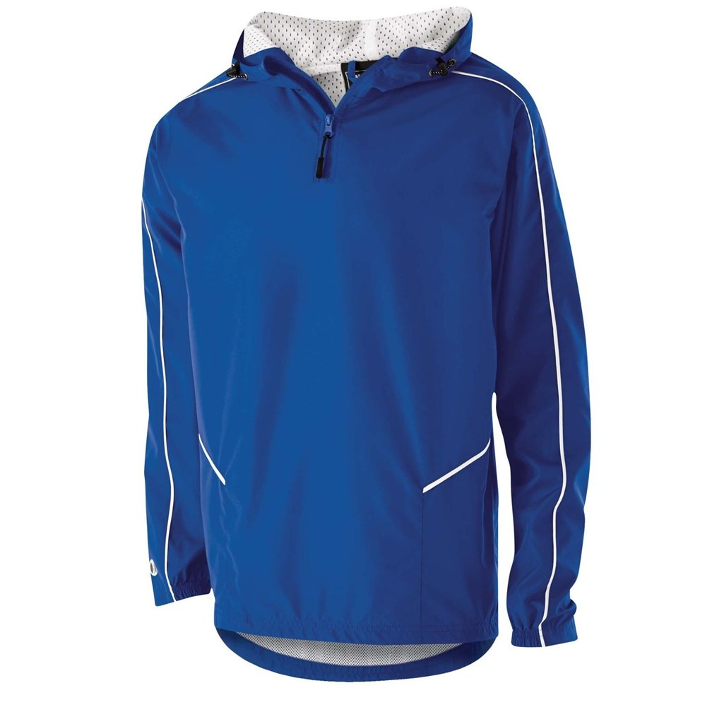 Holloway Wizard Youth Pullover (Medium, Royal/White) by Holloway