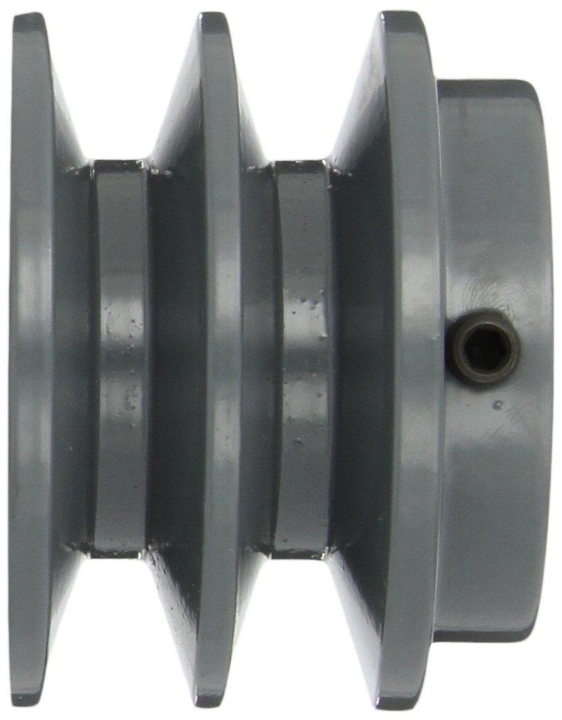 1-3//16 Bore 7.25 OD 1-3//16 Bore 2AK Type Gates 2AK74 Light Duty Spoke Sheaves 2 Groove 7.25 OD