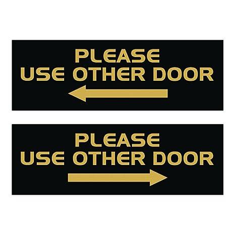 Amazon.com: Todos Cartel para puerta de calidad por favor ...