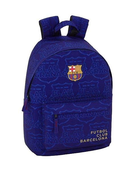 "FC Barcelona Blue Oficial Mochila Juvenil Para Portátil 14,1"", 310x160x410mm"