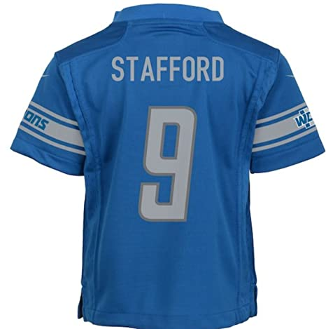 save off 8f016 abeb6 Amazon.com : Nike Matt Stafford Detroit Lions Team Color ...