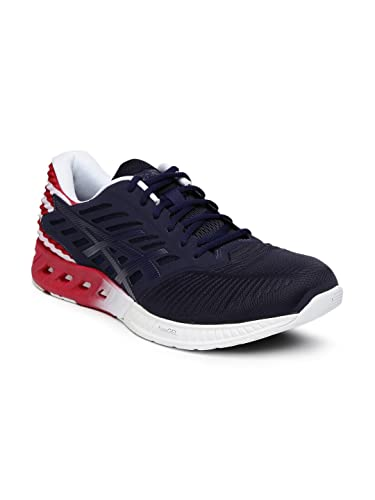 52826c17e0da ASICS Unisex Navy   Red FuzeX Country Pack Running Shoes (9UK)  Buy ...