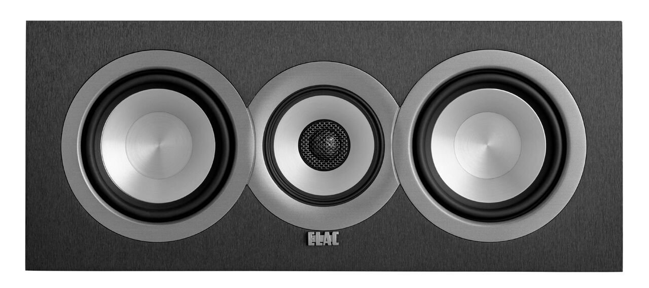 ELAC Uni-fi UC5 Center Speaker (Black, Single) by Elac