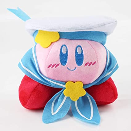 Amazon.com: 12cm (4.7 inch) - 12cm Kirby Plush Toy Marine ...