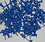 200 Blue Push Pins Ideal for Cork Boards