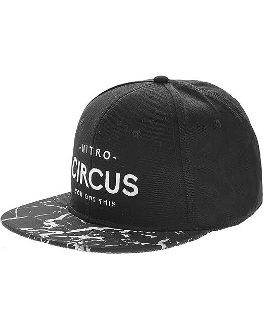 Nitro Circus - Gorra de béisbol - para hombre negro negro Talla única: Amazon.es: Ropa y accesorios
