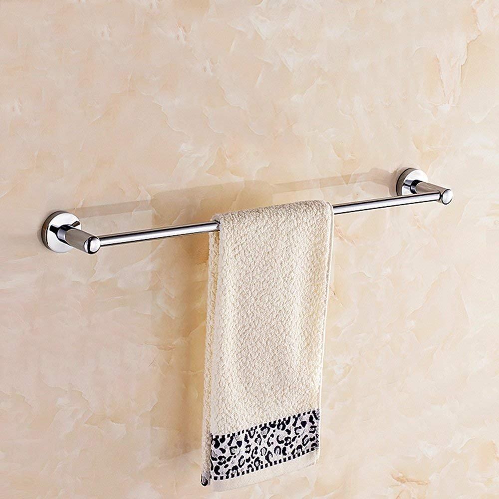 EQEQ Towel Holder Copper Single Rod/Wc Toilet Single Layer Towel Holder Enlarged Bath Rooms Bath Rooms/Rack/Towel Rail/Towel Towel Towel Rail Single Rod/(Size: 60 cm). best