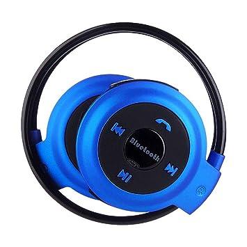 Zmsdt Running Sports Auriculares Bluetooth Tarjeta ...