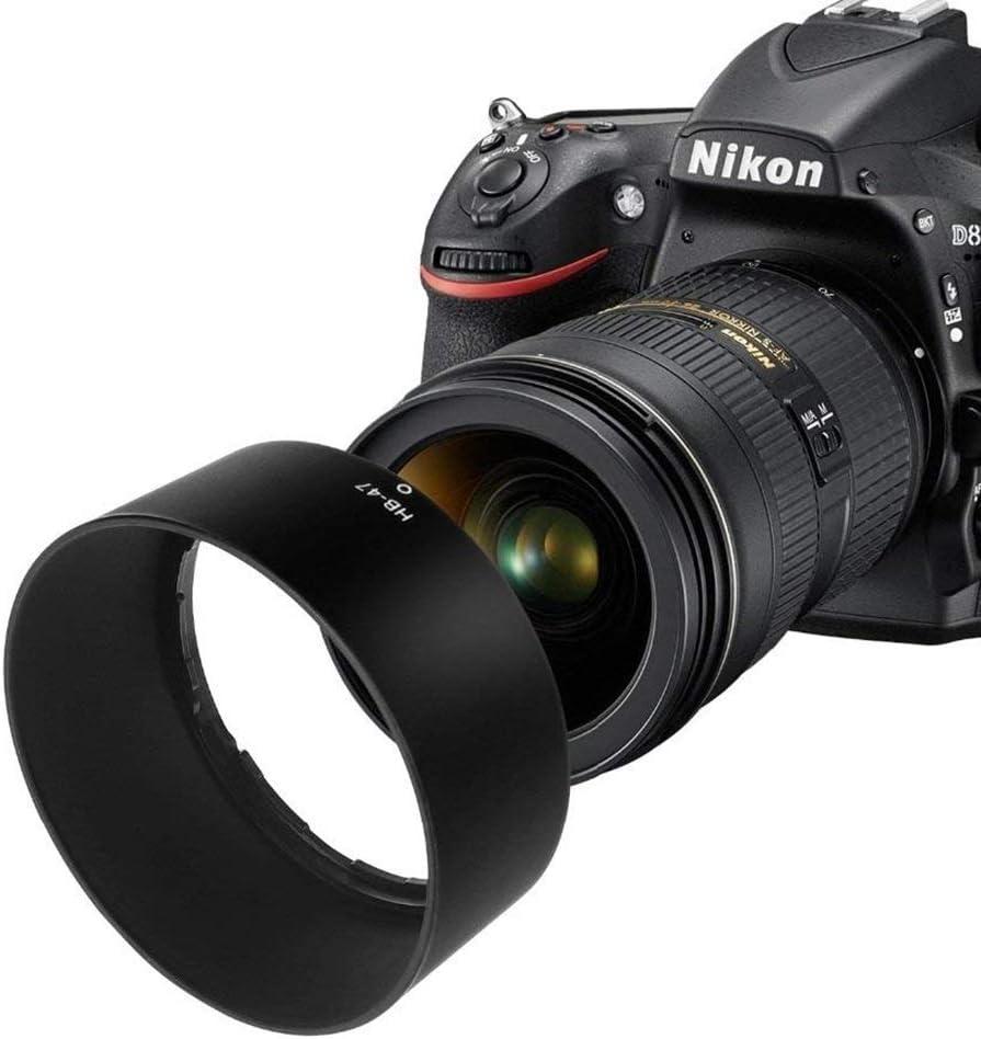 AF-S Nikkor 50mm f//1.8G Lens Photographic Equipment SHUHAN Camera Lens Replacement Part HB-47 Lens Hood Shade for Nikon AF-S Nikkor 50mm f//1.4G