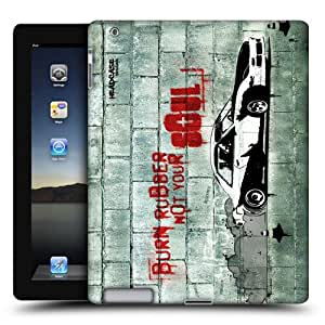 Head Case Designs Burning Rubber Christian Rider Protective Snap-on Hard Back Case Cover for Apple iPad 2