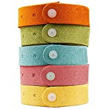 Loglife Fakon Best Mosquito Repellent Bracelet 7 Pack- Natural Deet-Free Insect Bug Repellent Bands,Non-Toxic Safe for Kids,Indoor Outdoor Protection,Protection Up to 300 Hours