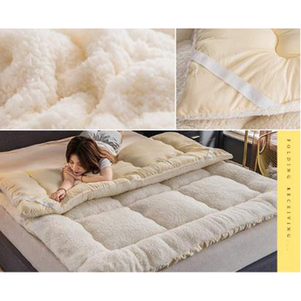 Amazon.com: Colchón de futón japonés, acolchado, plegable ...