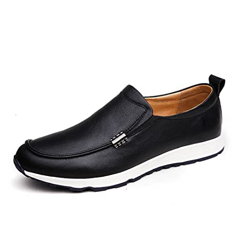 Hongjun-shoes, Conducción de los Hombres Mocasines Penny Vare Vamp Slip-on Casual