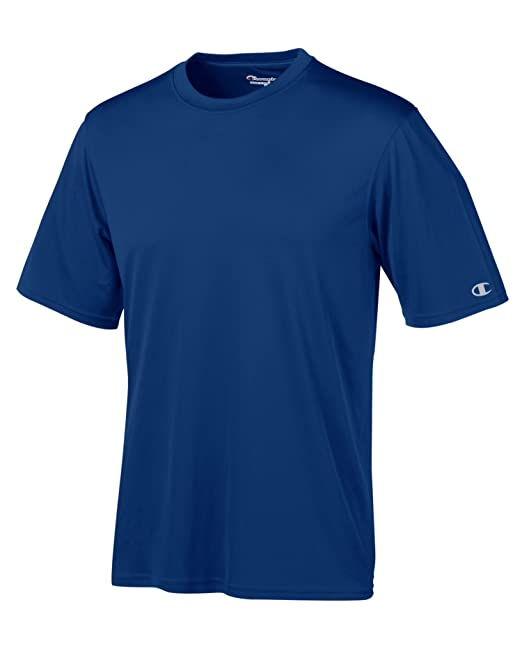 471d81772 Champion Mens Double Dry 4.1 oz. Interlock T-Shirt(CW22) at Amazon Men's  Clothing store: