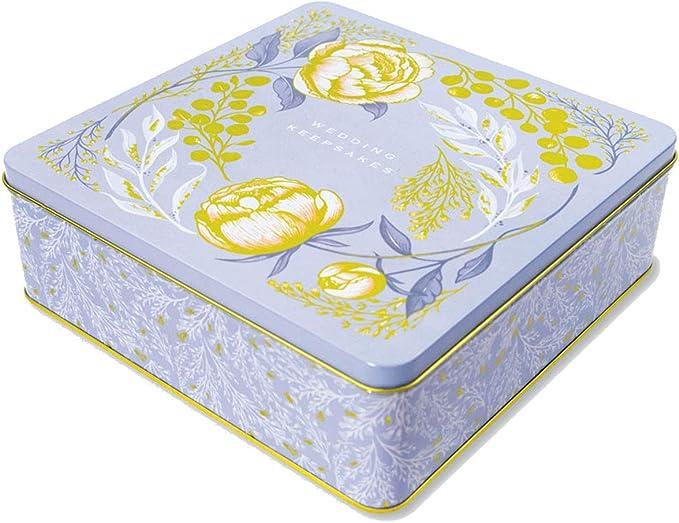 Rachel Ellen Designs - Caja de Recuerdos (tamaño Grande), Color Azul: Amazon.es: Hogar