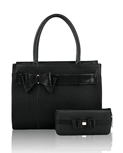 56923a75ca1 LeahWard Women's Bow Ribbon Tote Bags With Purse Quality 2 In 1 Handbags  School Gift R63