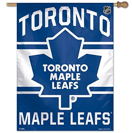 Amazon.com  NHL Toronto Maple Leafs 27-by-37-Inch Vertical Flag ... 18189c082