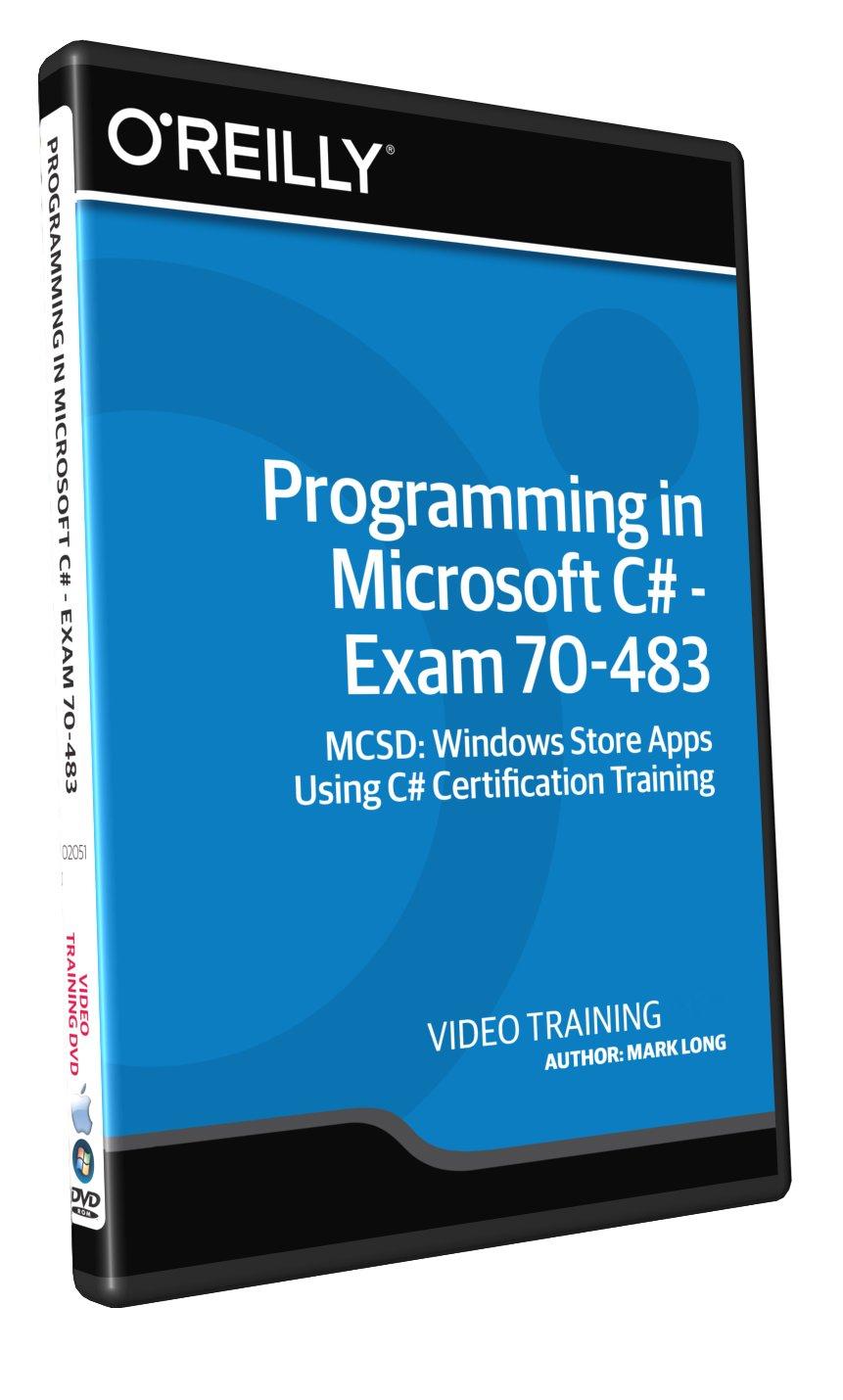 Programming In Microsoft C Exam 70 483 Training Dvd Amazon
