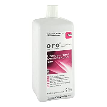 Oro C20 Hande Und Hautdesinfektion 1000 Ml Losung Amazon De