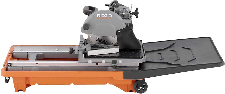ridgid 8 tile and paver saw with stand
